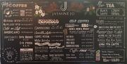 Jasmine Jo Coffee Chalkboard Menu