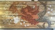 Starbucks Siren Mural - Fairfield, Ohio