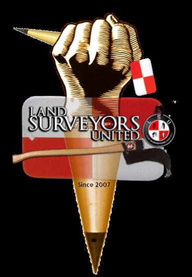 Land Surveyors United - Global Surveying Community Logo