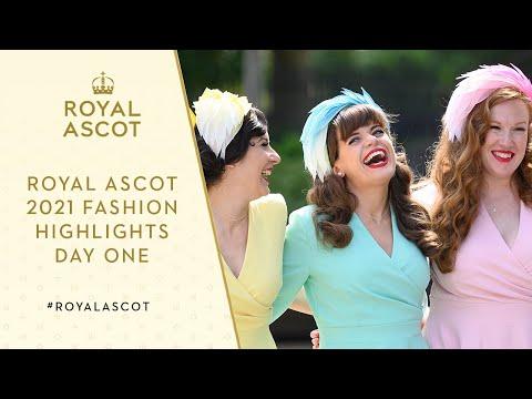 Royal Ascot Fashion Highlights | Tuesday 15th June 2021
