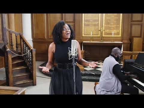 """""""Lift Every Voice and Sing"""" performed by Symonne Sparks and Preston Wilson"""