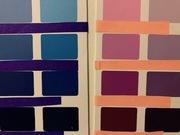 Colors violets blue