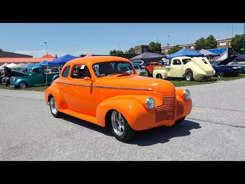 Walking Around the 2021 NSRA Eastern Nationals York,PA Video 1