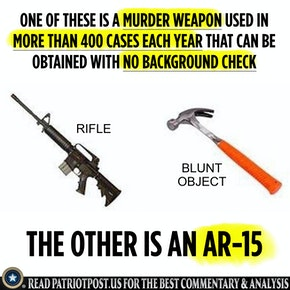 underestimating the gullibility of the American public on gun control