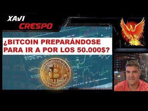 Bitcoin preparándose para ir a por los 50.000$?