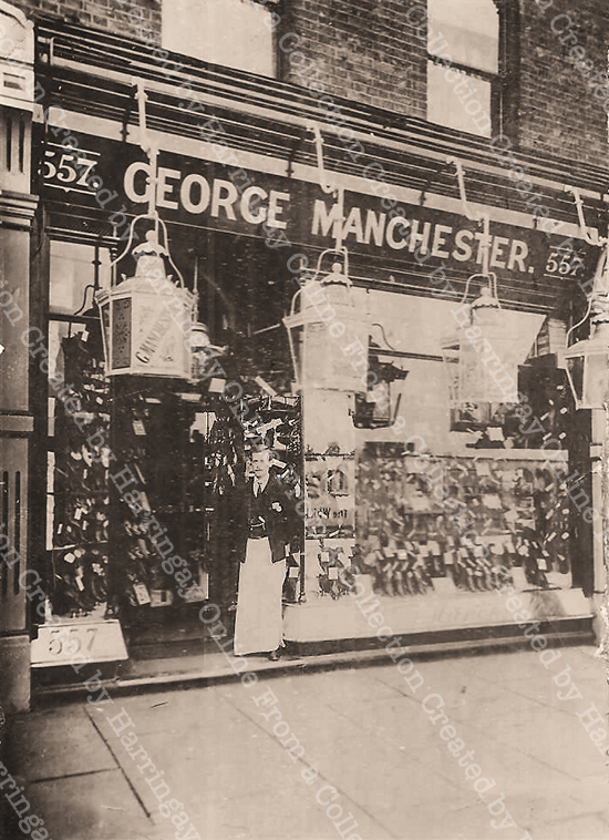 George Manchester's Bootmakers 557 Green Lanes