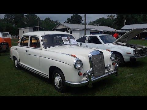 Joe's 1959 Mercedes Benz 220s At the 2021 Latimore Car Show