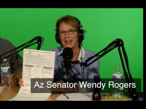 Wendy Rogers Gives Update about the Arizona Audit - Part 1