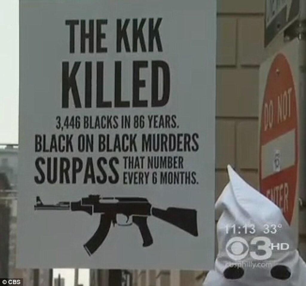 KKK vs Black on Black Murder