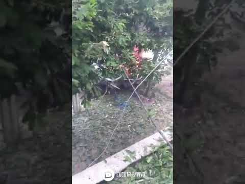 Colombia, Cúcuta: Footage of Car Bomb Explosion at Colombian Army Base Hosting US Service Men from…
