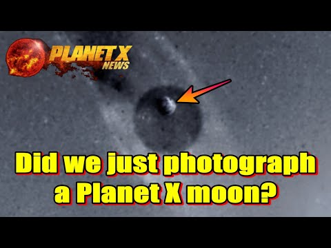 Did we just photograph a Planet X moon?