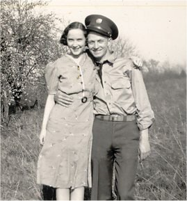 maxine parker with soldier 1939
