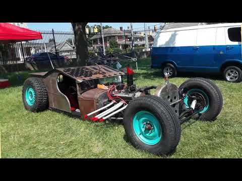 Rat Rods At the 2021 NSRA Eastern Nationals York, PA.