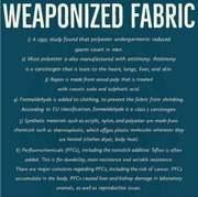 Weaponized Fabric
