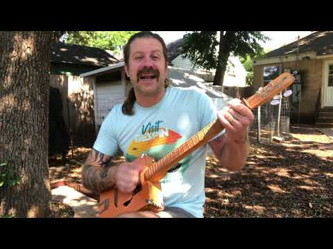 Oh Lonesome Me (on cigar box guitar)