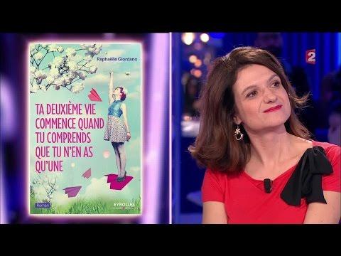 Raphaëlle Giordano - On n'est pas couché 19 novembre 2016 #ONPC