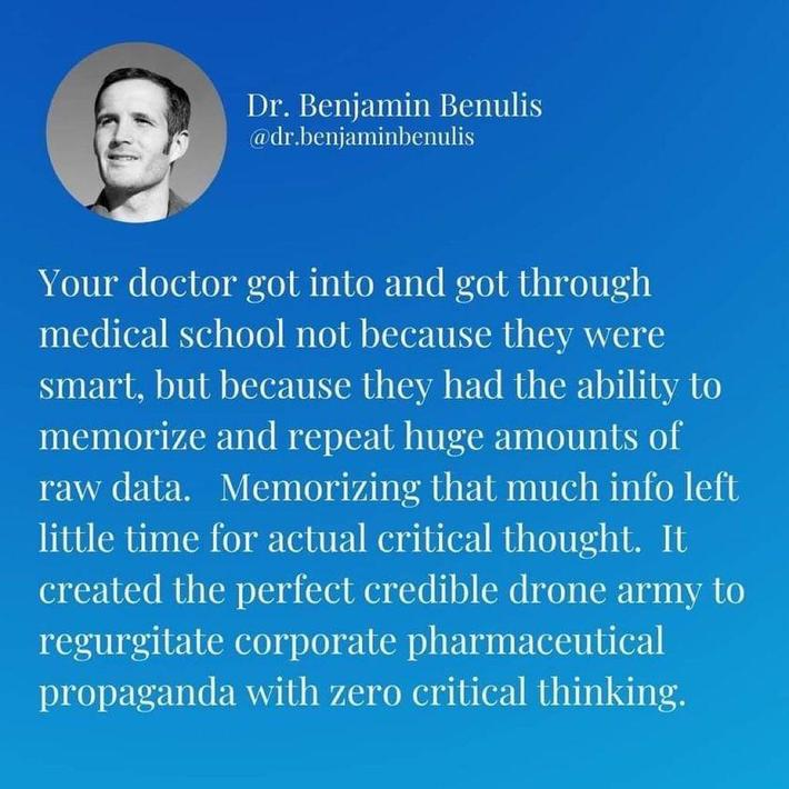 This is true, in 30yrs of nursing I've met many idiots with a medical degree