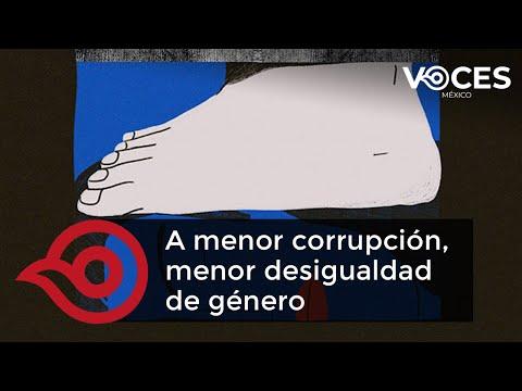 A menor corrupción menor desigualdad de género por Marina Alicia San Martín Rebolloso