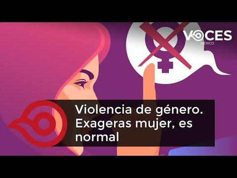 Violencia de género. Exageras mujer, es normal por Marina San Martín