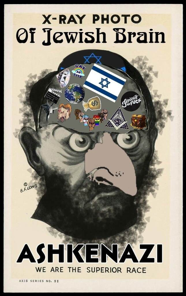 AshkeNAZI Jews think and stink they are a superior fake inbred race