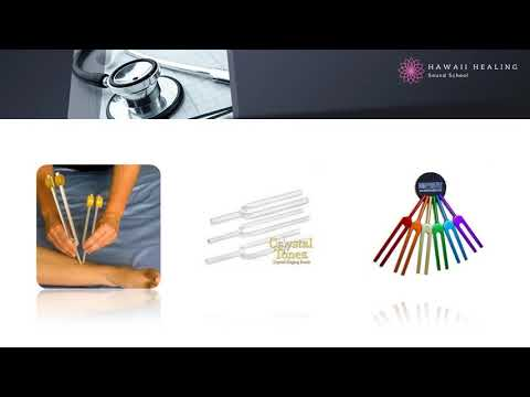 Heal your chakras with tuning forks healing frequencies
