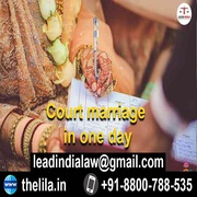Court marriage in one day
