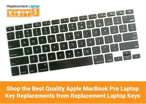 Shop the Best Quality Apple MacBook Pro Laptop Key Replacements from Replacement Laptop Keys
