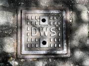 Manhole near The Metropolitan Miseum of Art NYC June 2021