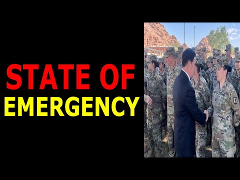 ARIZONA NATIONAL GUARD IS IN A STATE OF EMERGENCY