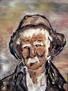 Vieil homme au chapeau