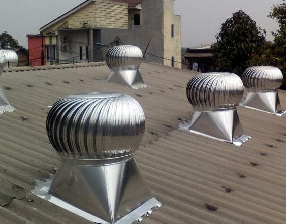 Mengenal Turbin Ventilator Atasi Panas Pada Ruangan