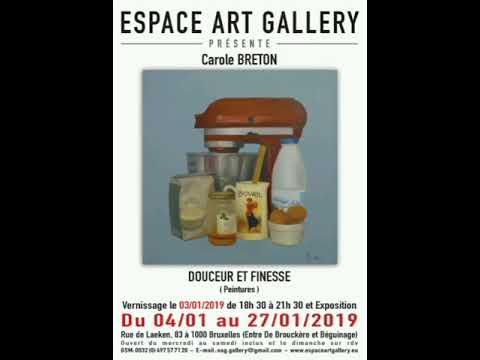 Quelques belles expositions à l'Espace Art Gallery - Bruxelles