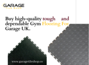 Buy high-quality tough and dependable Gym Flooring For Garage UK.