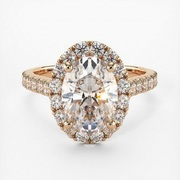 One Stop Solution for Rose Gold Moissanite Ring