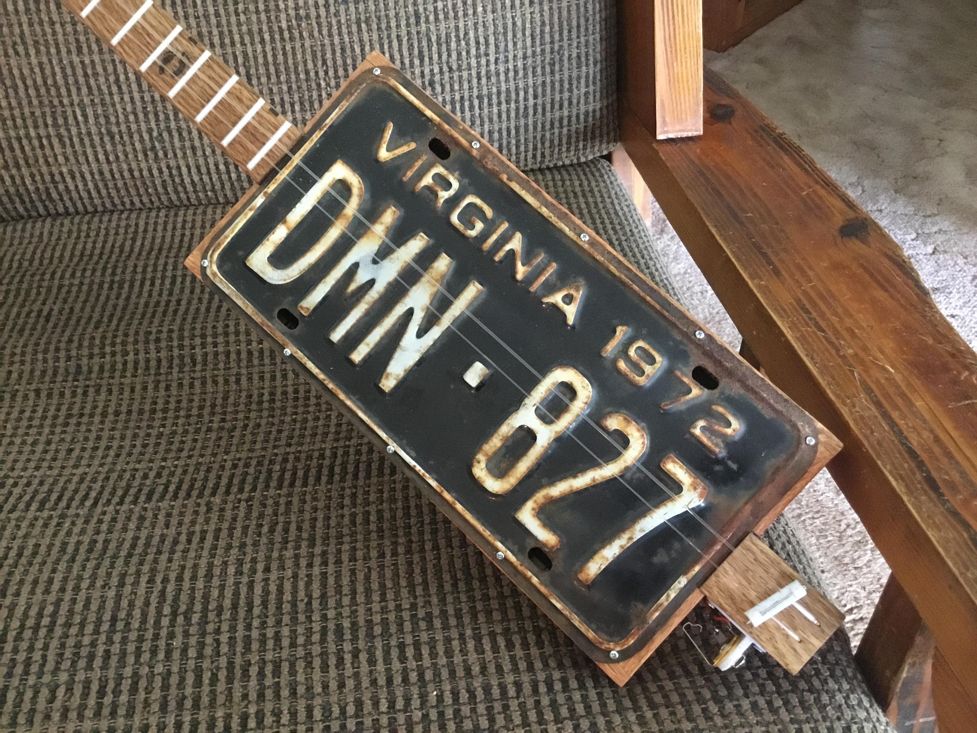 Virginia License Plate Chugger