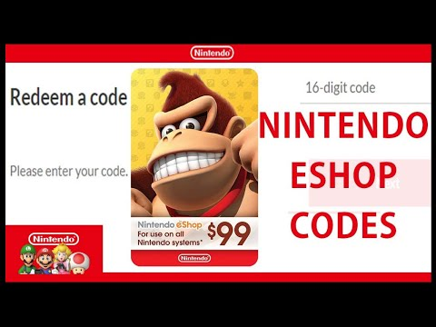 ☞Free Nintendo eShop Codes 2021 ☑ How To Get Free Nintendo eShop Codes