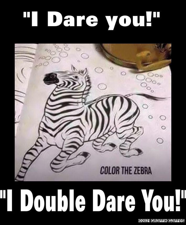 Color the zebra