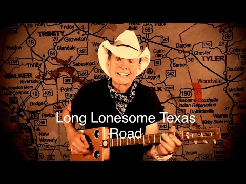 Long Lonesome Texas Road