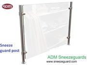 Acrylic Sneeze Guard Maintains Social distance| ADM Sneezeguards