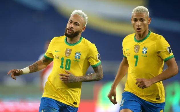 Brazil Unggul 2-1 Kolombia Copa America 2021