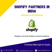 Get the Best Shopify Plus Partners in India | PTI WebTech
