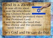 God is a Zionist