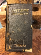 Old old Case Bros box (top)