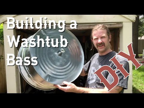 My First Attempt at Building (and Playing) a Washtub Bass