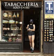 Turista in Arezzo