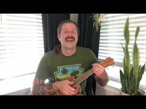 Bad Moon Rising on ukulele