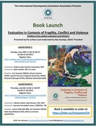 Book Launch of Evaluation in Fragility, Conflict and Violence