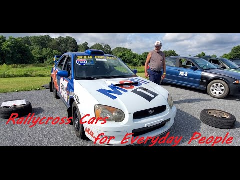 JP,Dylan,Robert and Frank Show Us Their Rallycross Cars