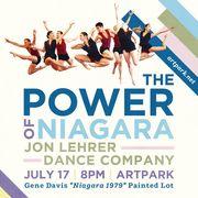 Artpark presents The Power of Niagara by the Jon Lehrer Dance Company