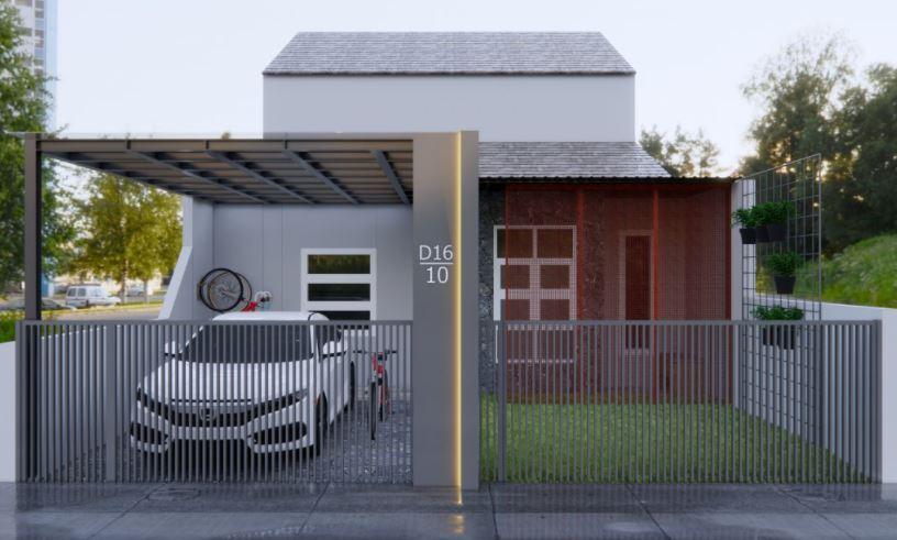 Desain Rumah Type36 Minimalis